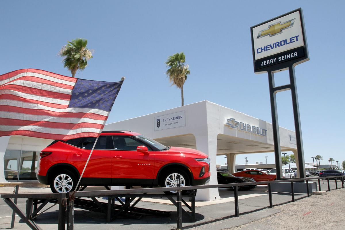 Henry Brown in CG purchased by Utah based dealership