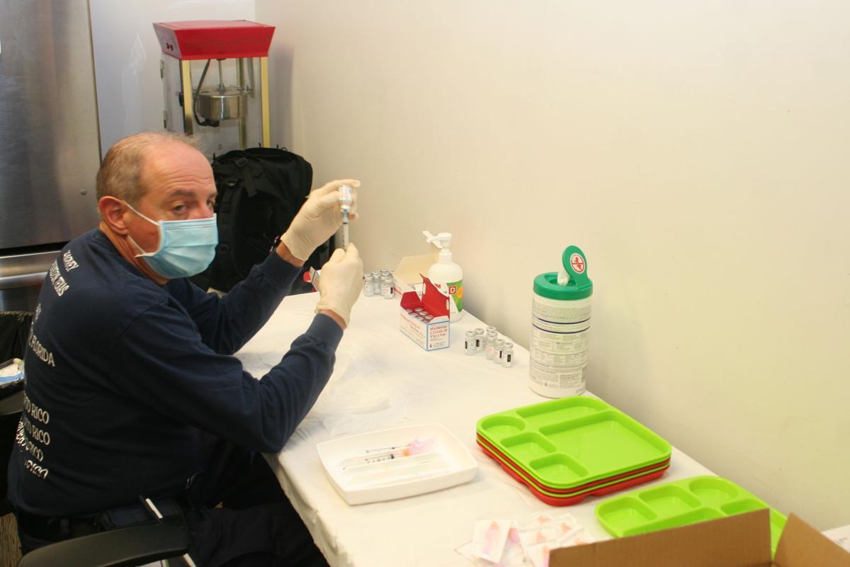 Preparing vaccine