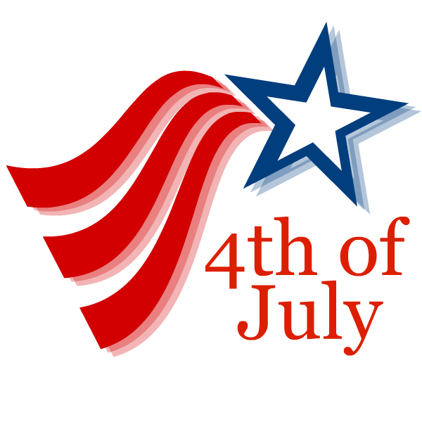 Fourth of July Logo