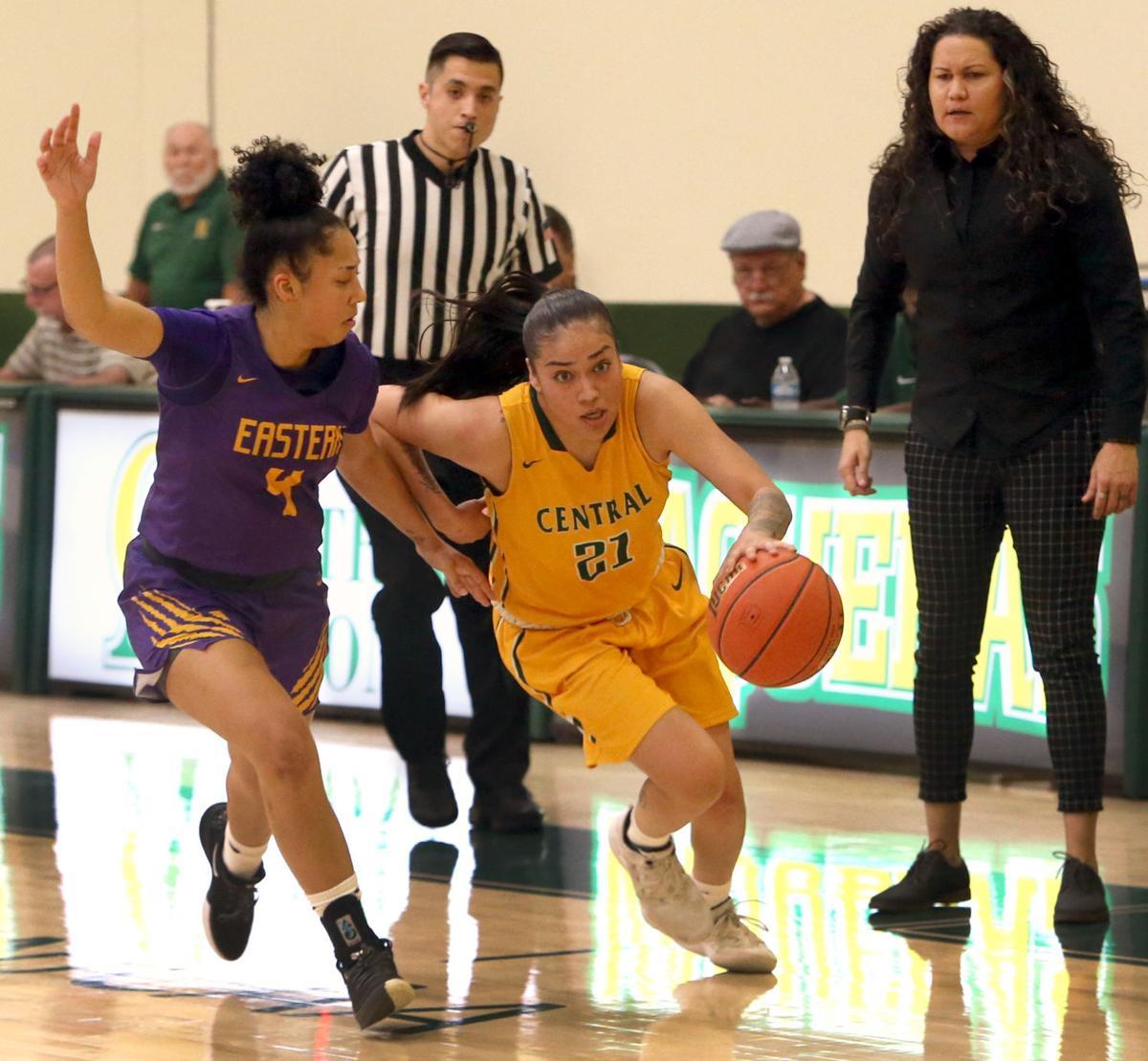 Central vs. Eastern women's basketball