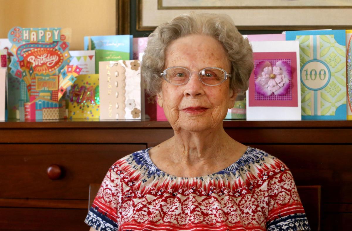 retired teacher turns 100