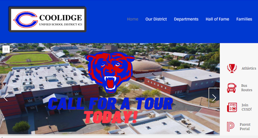 New CUSD Page