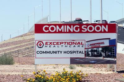 New hospital sign