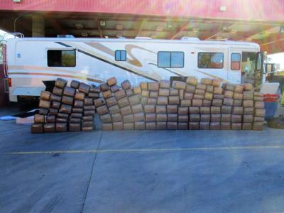 Pot Seized from RV