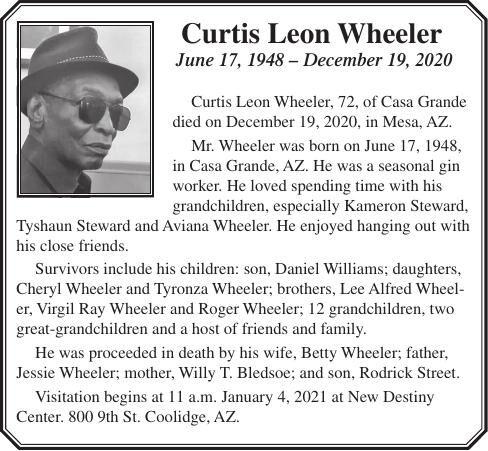 Curtis Leon Wheeler