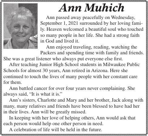 Ann Muhich