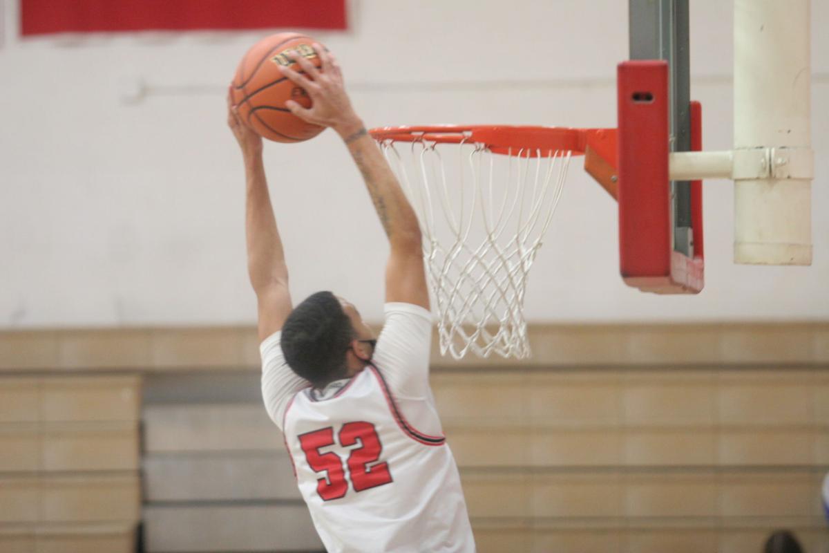 Malik Payton dunk