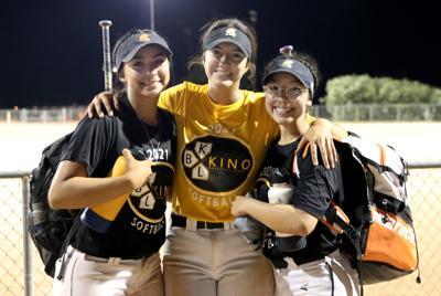 Vista Grande softball trio