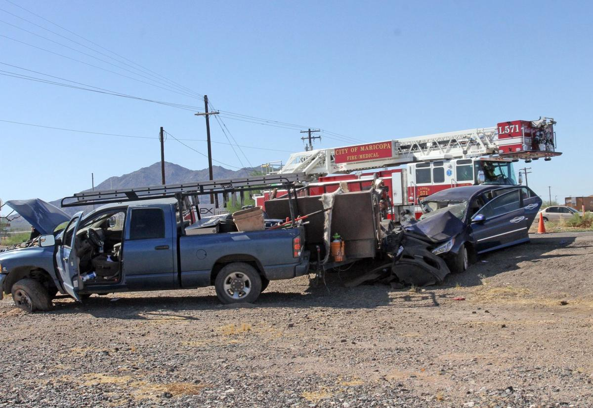 Two-vehicle crash in Maricopa sends one to Valley hospital   News