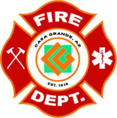 Casa Grande Fire Logo
