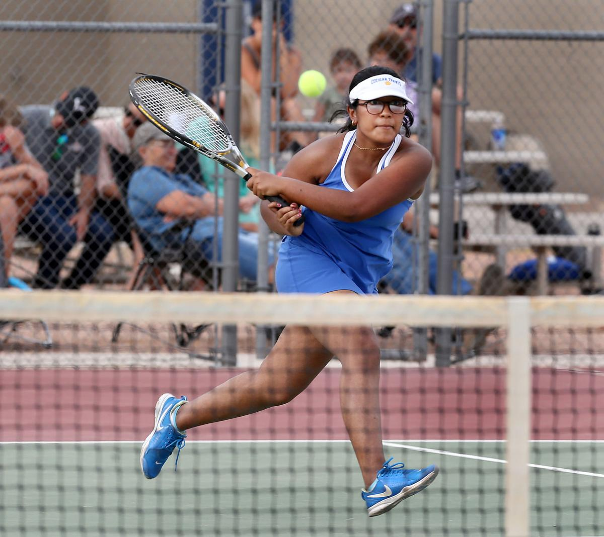 CG Union vs. Vista Grande girls tennis 4/14/21