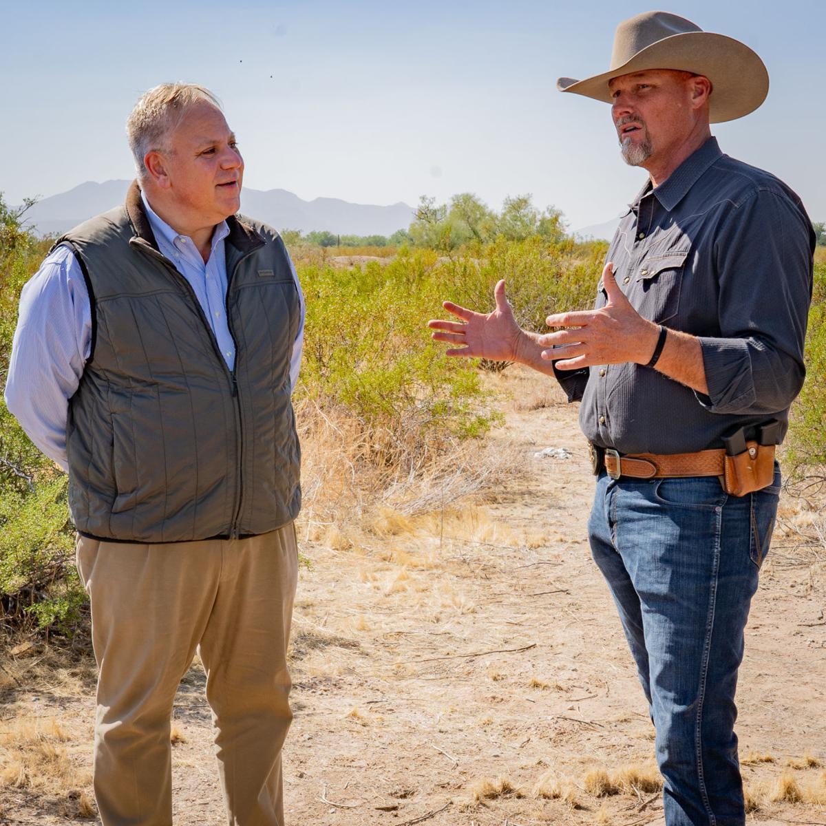 U.S. Secretary of Interior visits Pinal County