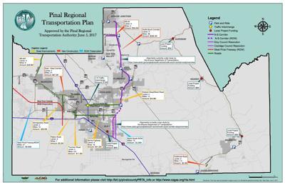 Updated RTA map