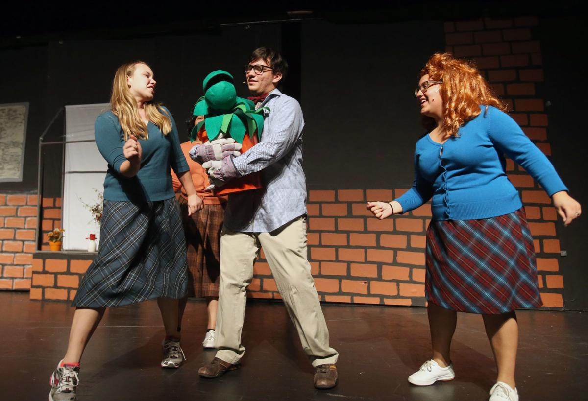 Little Shop of Horrors dress rehearsal