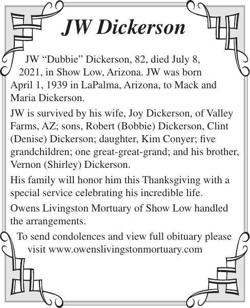 JW Dickerson