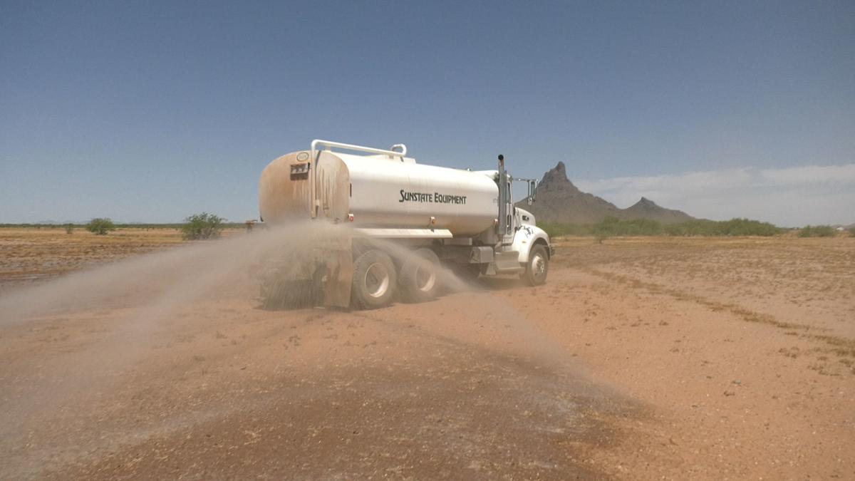 Dust mitigation