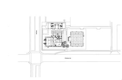 Aquatic Center Site Plan