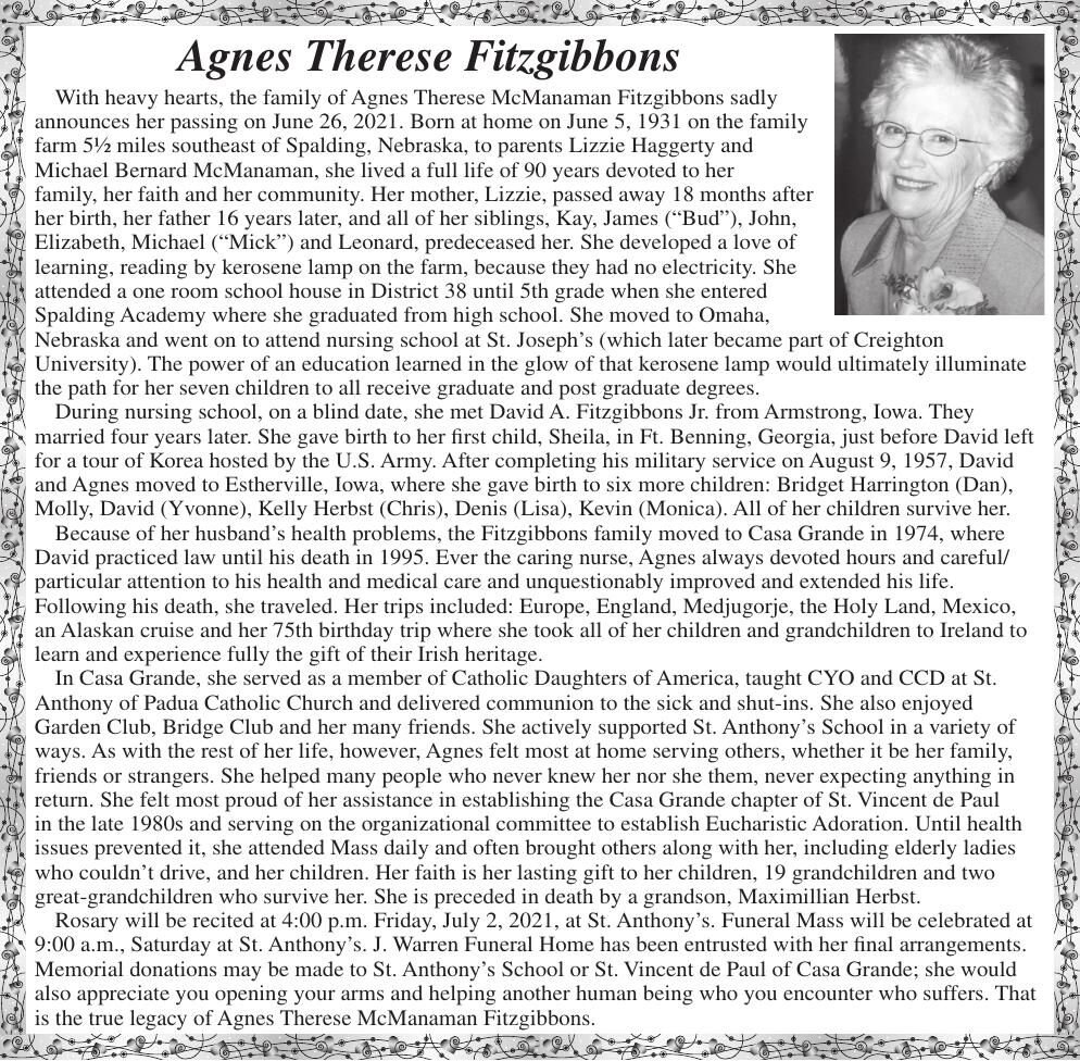 Agnes Therese Fitzgibbons