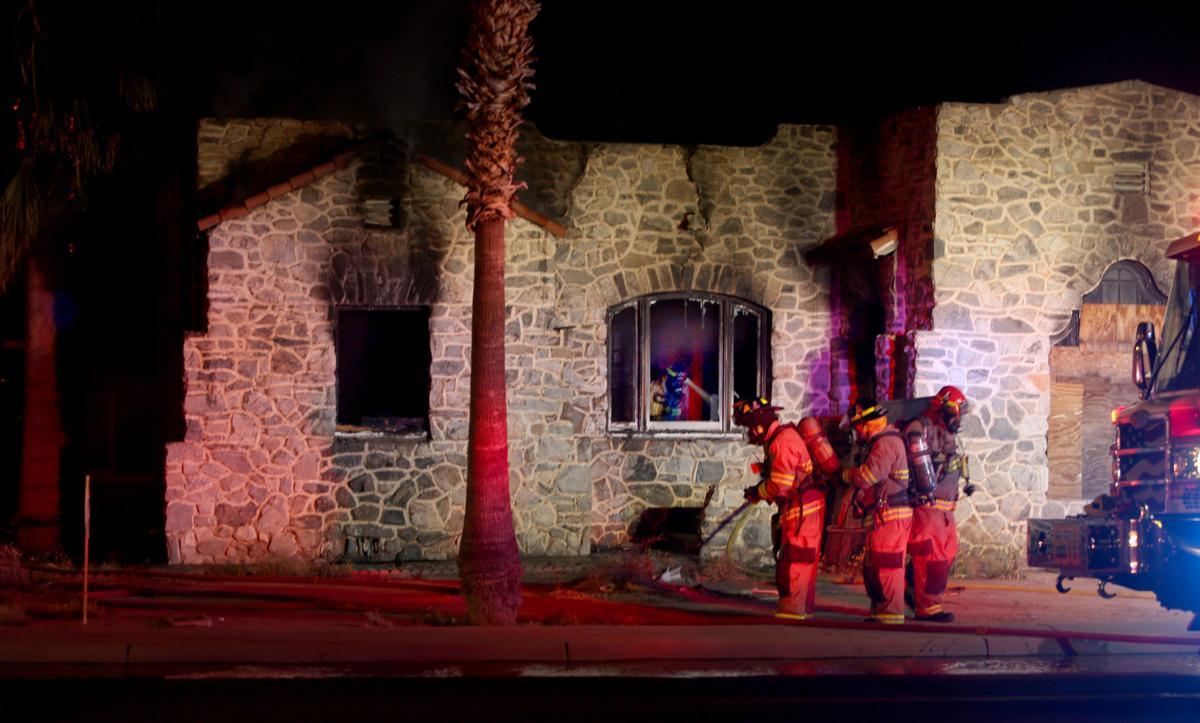 Florence Blvd fire