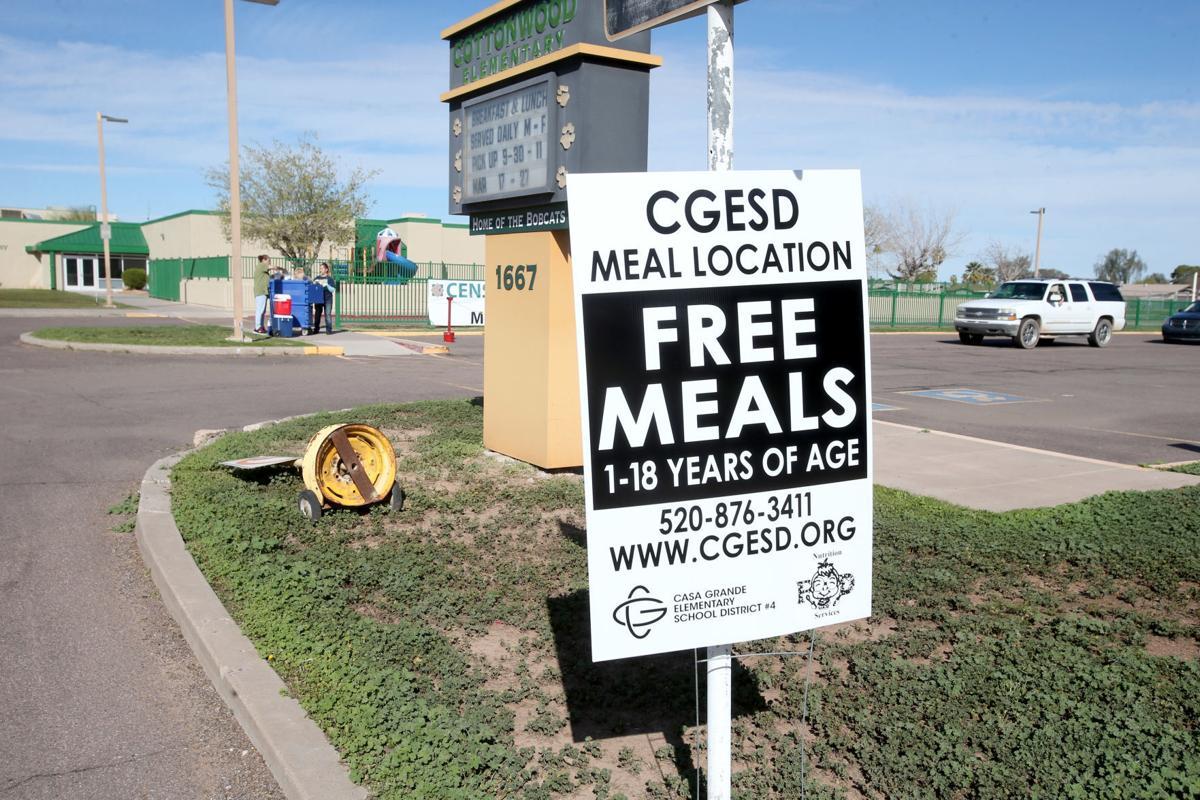 CGESD school closure meal service