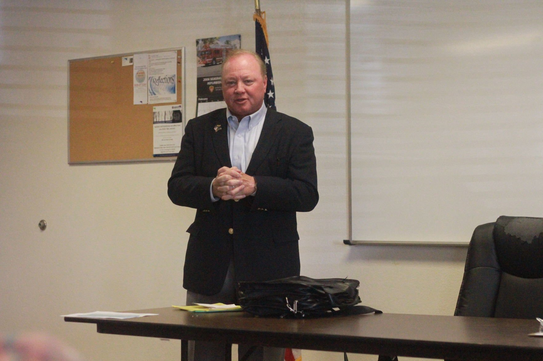 County Assessor Douglas J. Wolf in AZ City