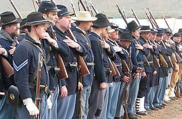 Civile War re-enactments