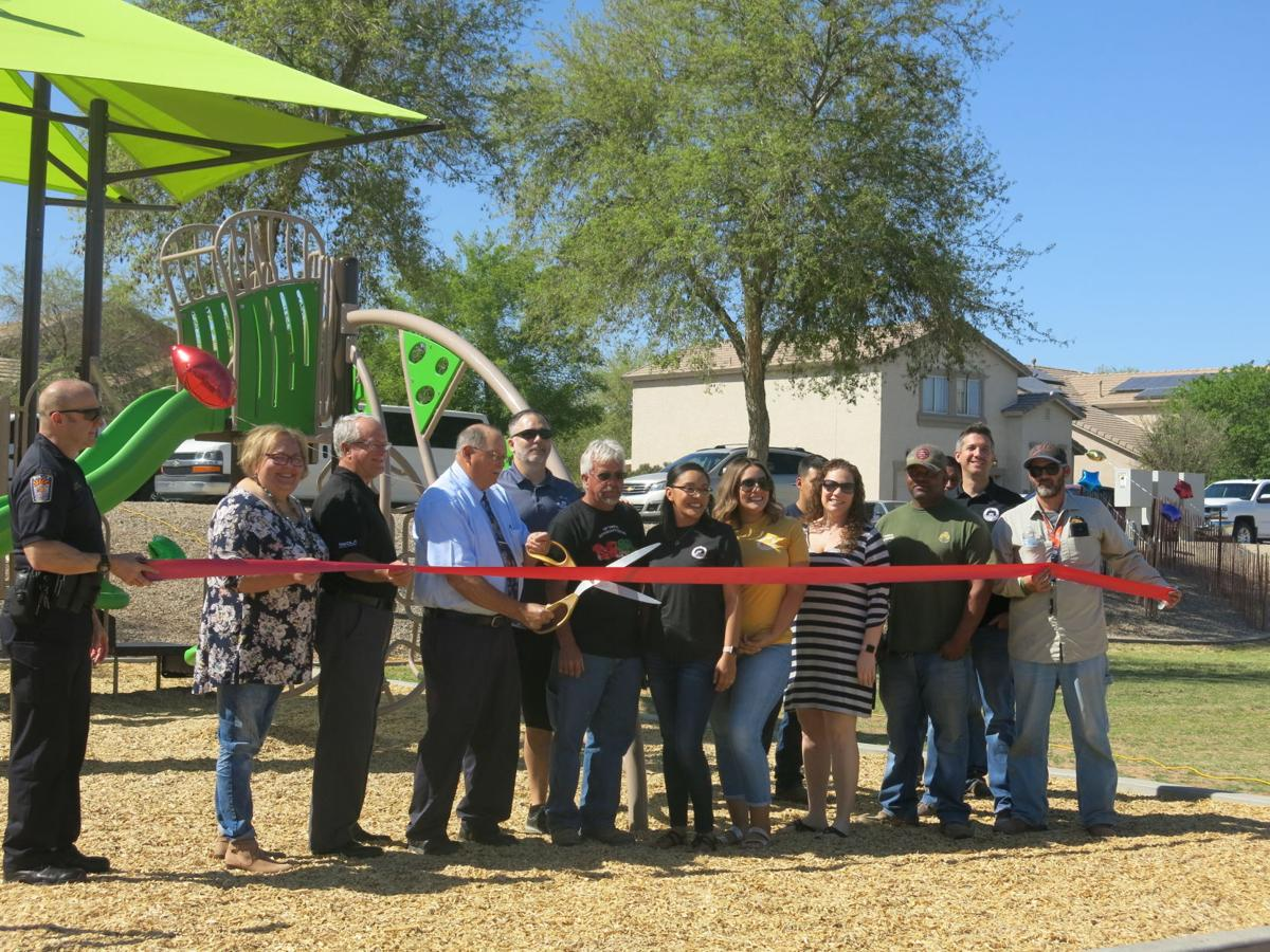 Landmark Ranch playground open