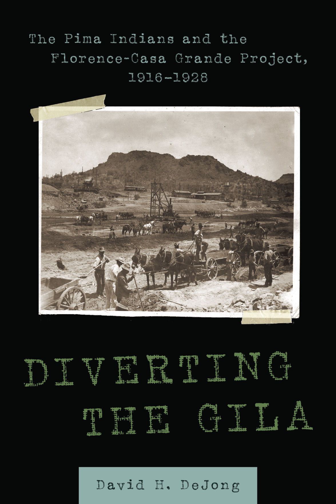 """""""Diverting the Gila"""" book cover"""