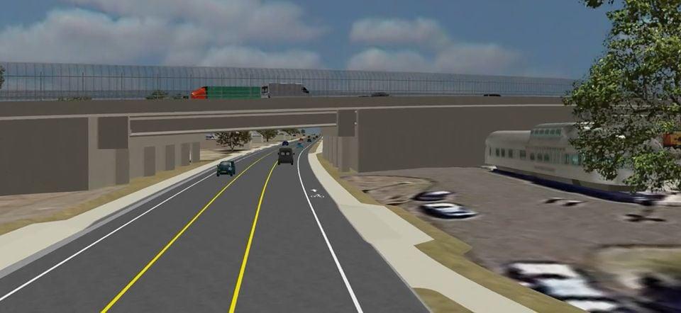 SR 347 Overpass