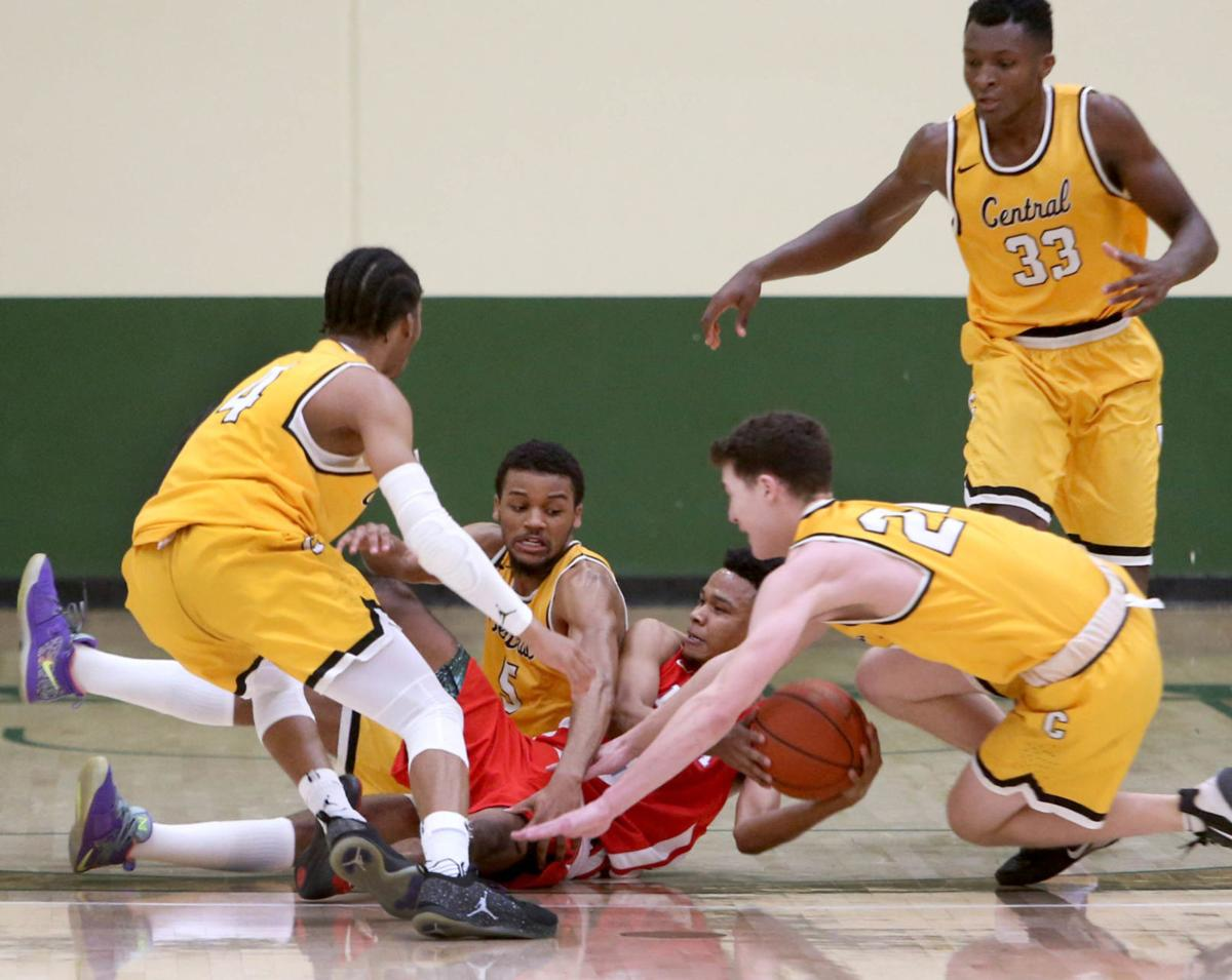 Central vs. Mesa men's basketball