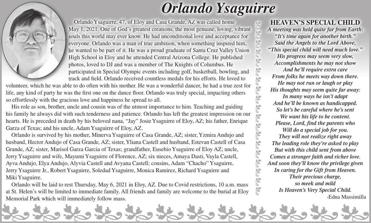 Orlando Ysaguirre