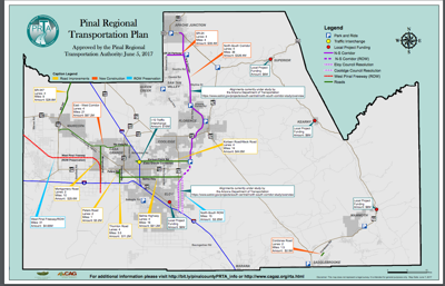 Pinal officials support roads tax