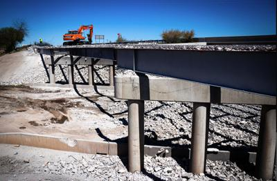 I-10 Bridge Demolished