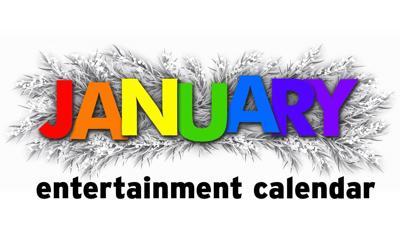 January entertainment calendar logo