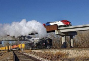 Photoshopped Trains