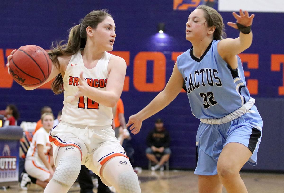 Poston Butte vs. Cactus girls basketball