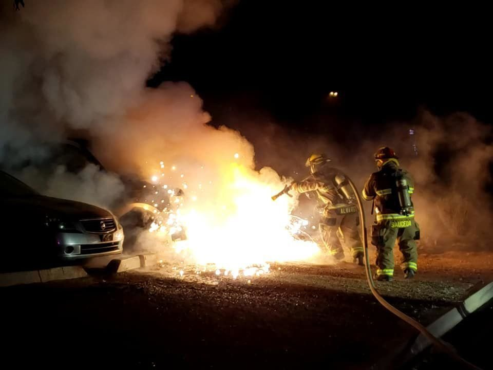 Eloy vehicle fire