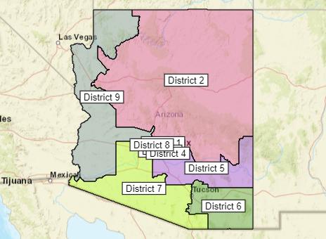 AZ Congress Draft Map Oct 6