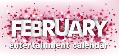 February entertainment calendar logo