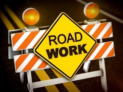 Road work logo