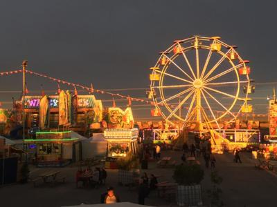 Pinal Fair at Sunset