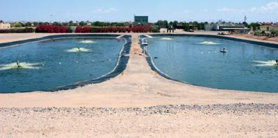 Coolidge wastewater treatment plant