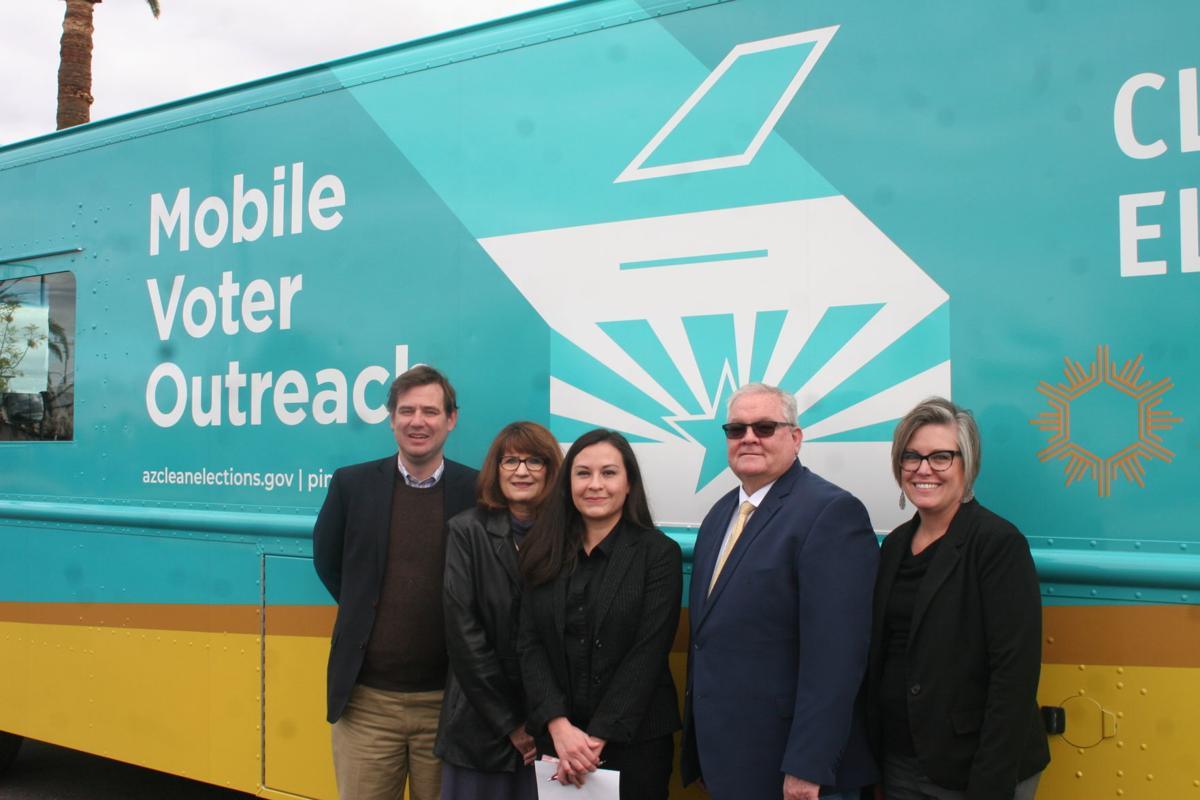 Mobile Voter Outreach Van