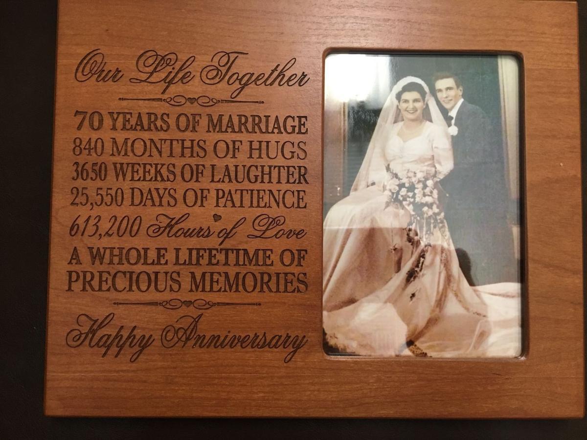70th Wedding Anniversary.Barrs Celebrate 70th Wedding Anniversary Home And Hearth
