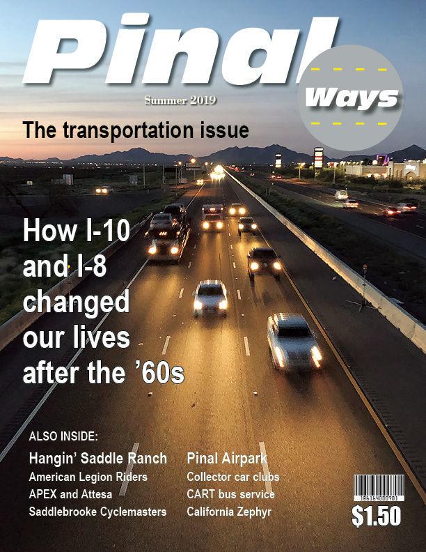 Summer 2019 Pinal Ways magazine cover