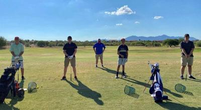 Maricopa High School boys golf