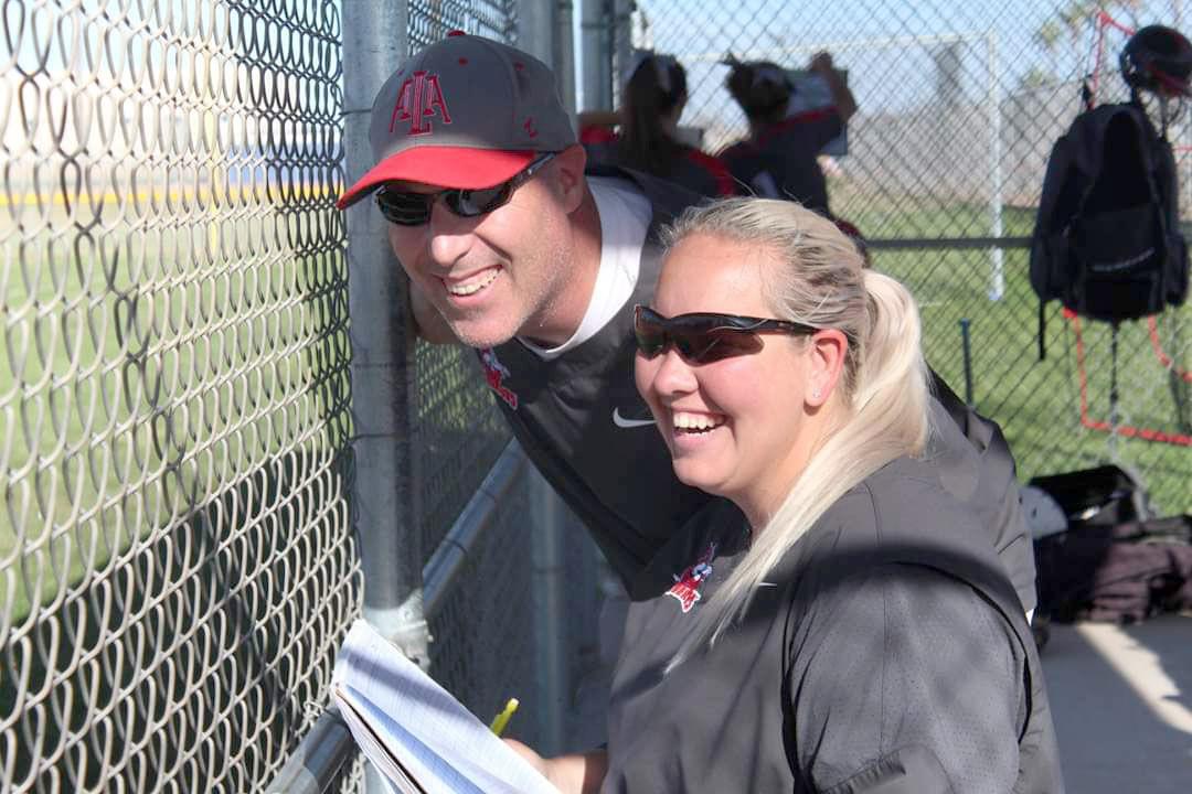 ALA-Ironwood softball coaches