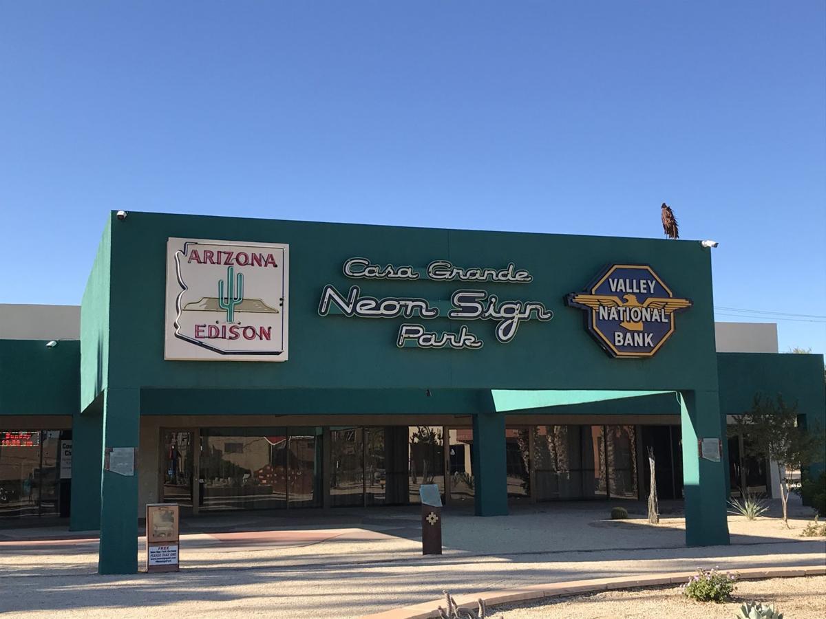 CG Neon Sign Park