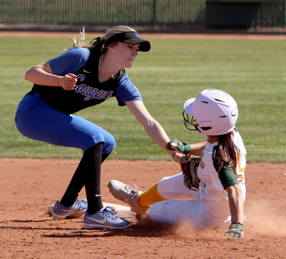 Central vs. South Mountain softball