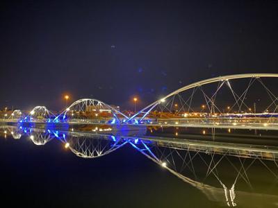Blue - Tempe Town Lake Bridge